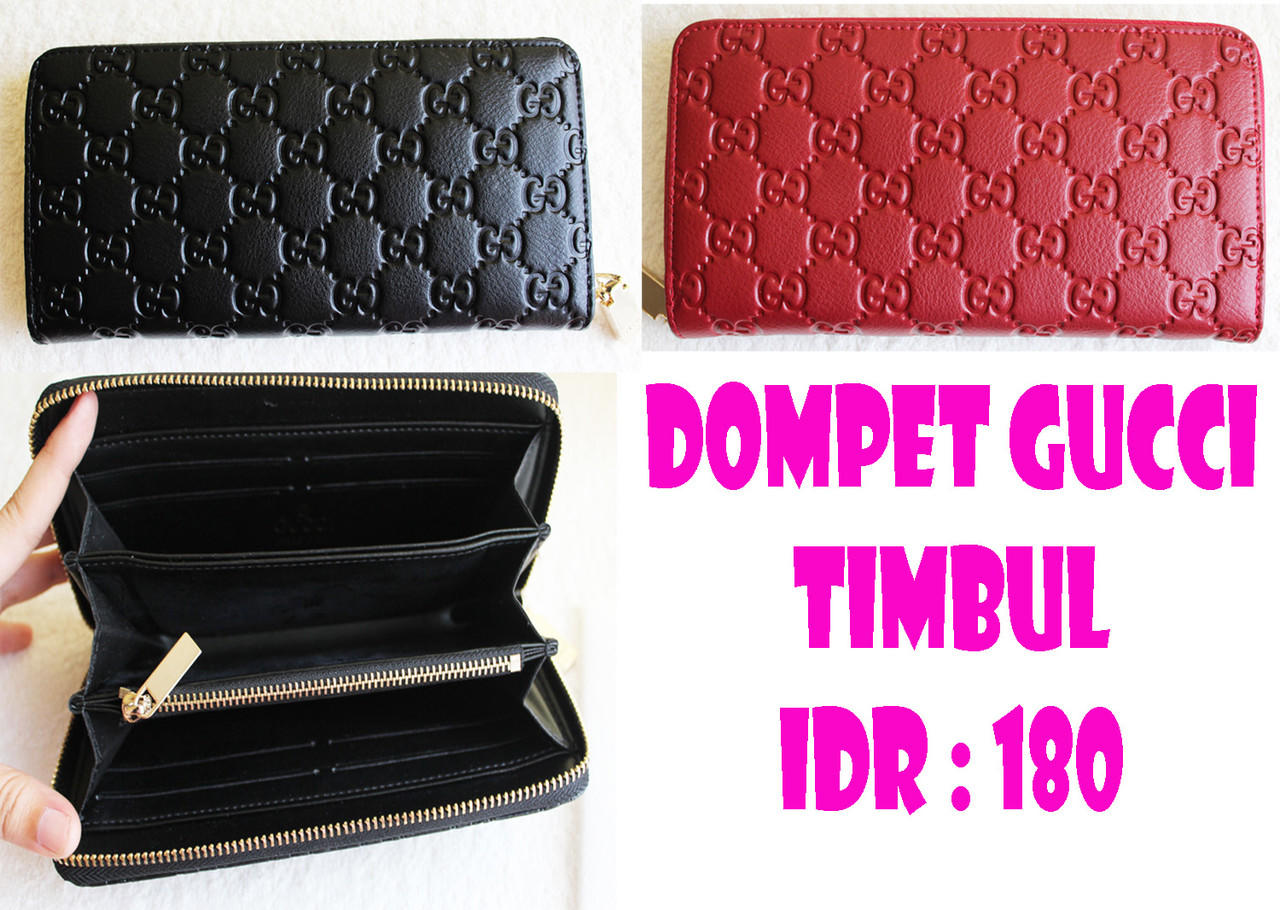 WHOLE SALE DOMPET BRANDED!! BANYAK MODEL ! GOOD PRICE! GUCCI LIPAT ... ad6a0b761d