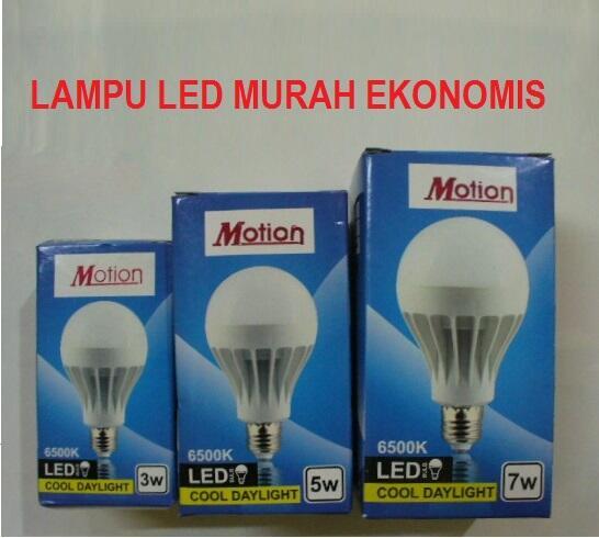 Terjual Lampu LED Murah Ekonomis, Cocok Untuk Penggunaan