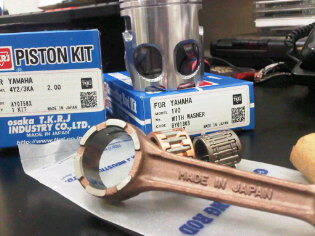 TKRJ produk 100% japan seher, stang seher n klep untuk semua jenis motor ready stock