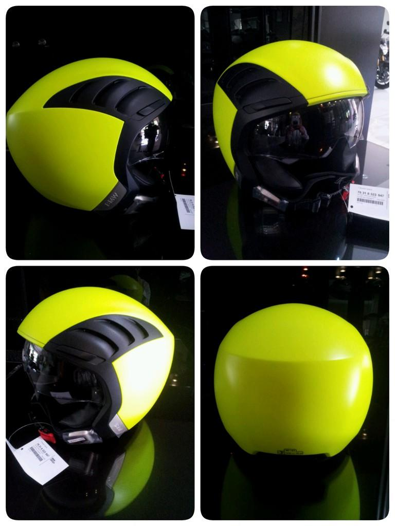 HELM BMW Airflow Yellow