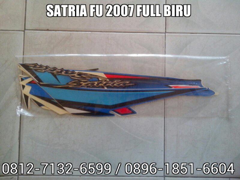 Striping Satria FU 2007 Full Biru