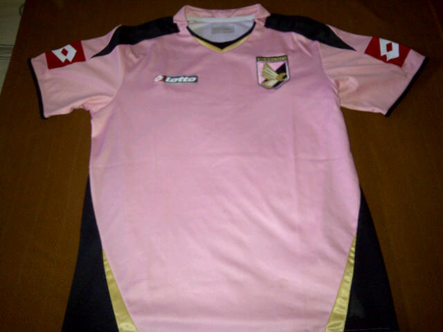 sneakers for cheap 9af50 942aa Terjual [SALE] - Jersey ORIGINAL PALERMO Home 2008/09 Debut EDINSON CAVANI