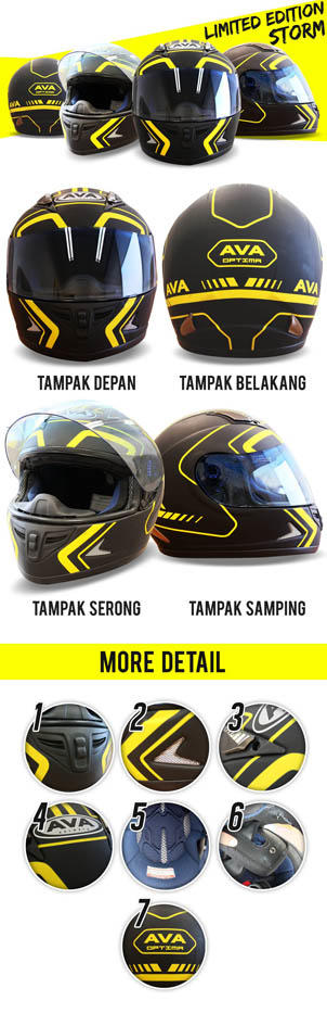 BELI Helm AVA Limited Edition