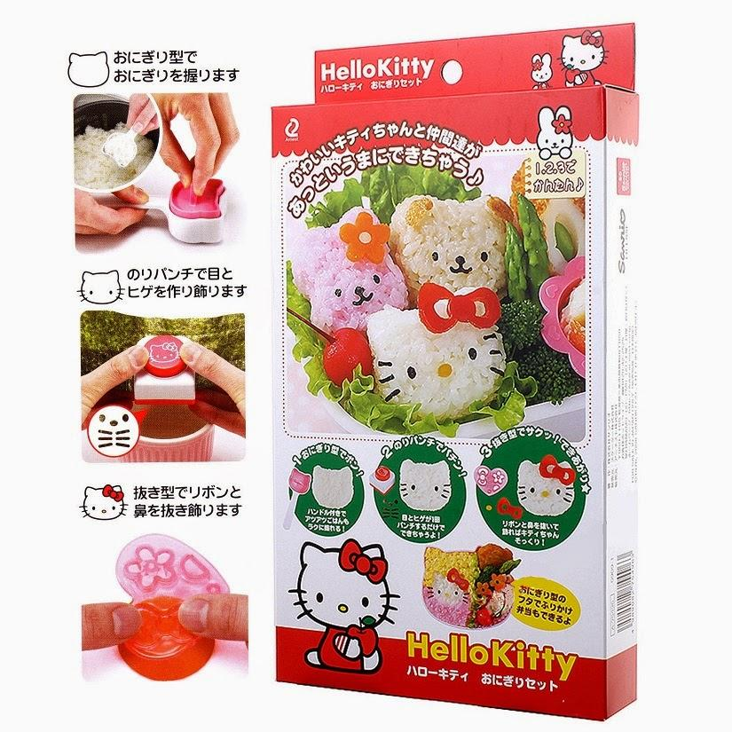 Pencetak Cetakan Nasi Rice Sushi Mold Set Bento Tools Nori Seaweed Cutter Puncher Hel