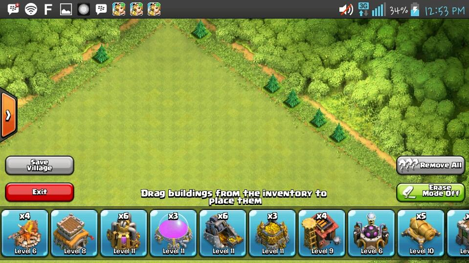 clash of clans coc th8 lv78 hampir mentok builder 4 gems 1200an depok murah