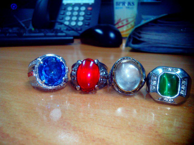 dijual cincin batu king shafir biru bandung
