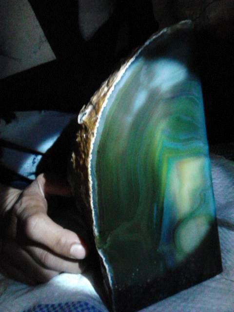 bongkahan batu hijau / ijo cristal atw cingcau sempurna