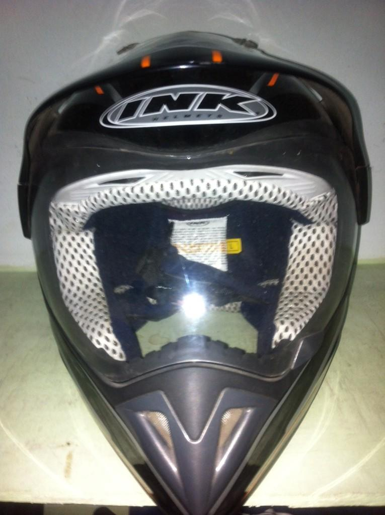 Jual Helm Supermoto DualSport Limited Edition Ink S5 Series #3 Bekasi