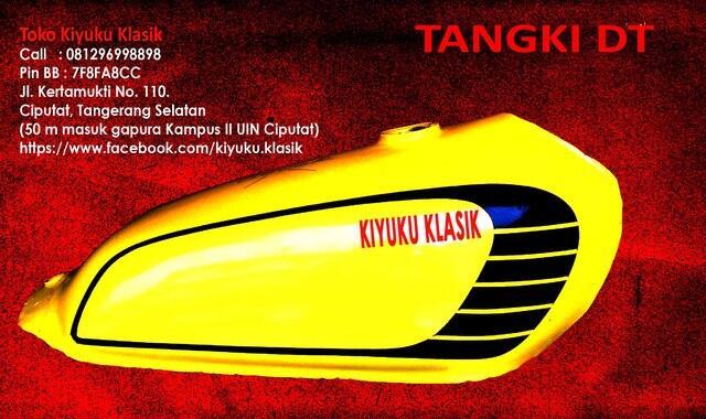 Tangki Japstyle variasi DT