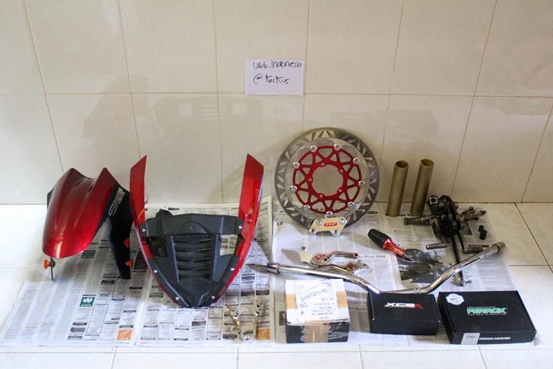 [CUCI GUDANG - COD BANDUNG] PSM, Cover Engine, Underbone NUI, Ferrox, XCSR, Gear SSS