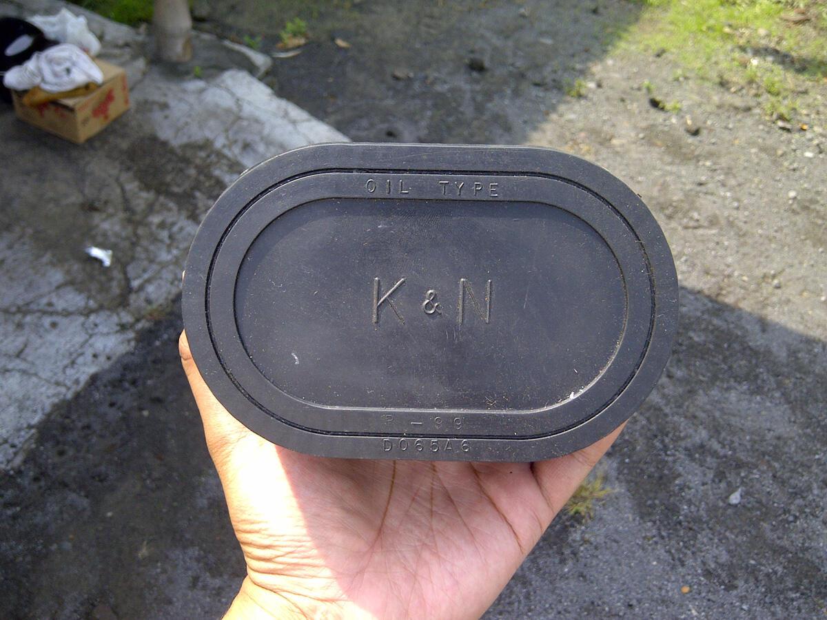 FS : Open filter knn karet for ninja 250