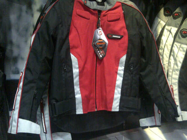 Jaket Touring Contin Corble