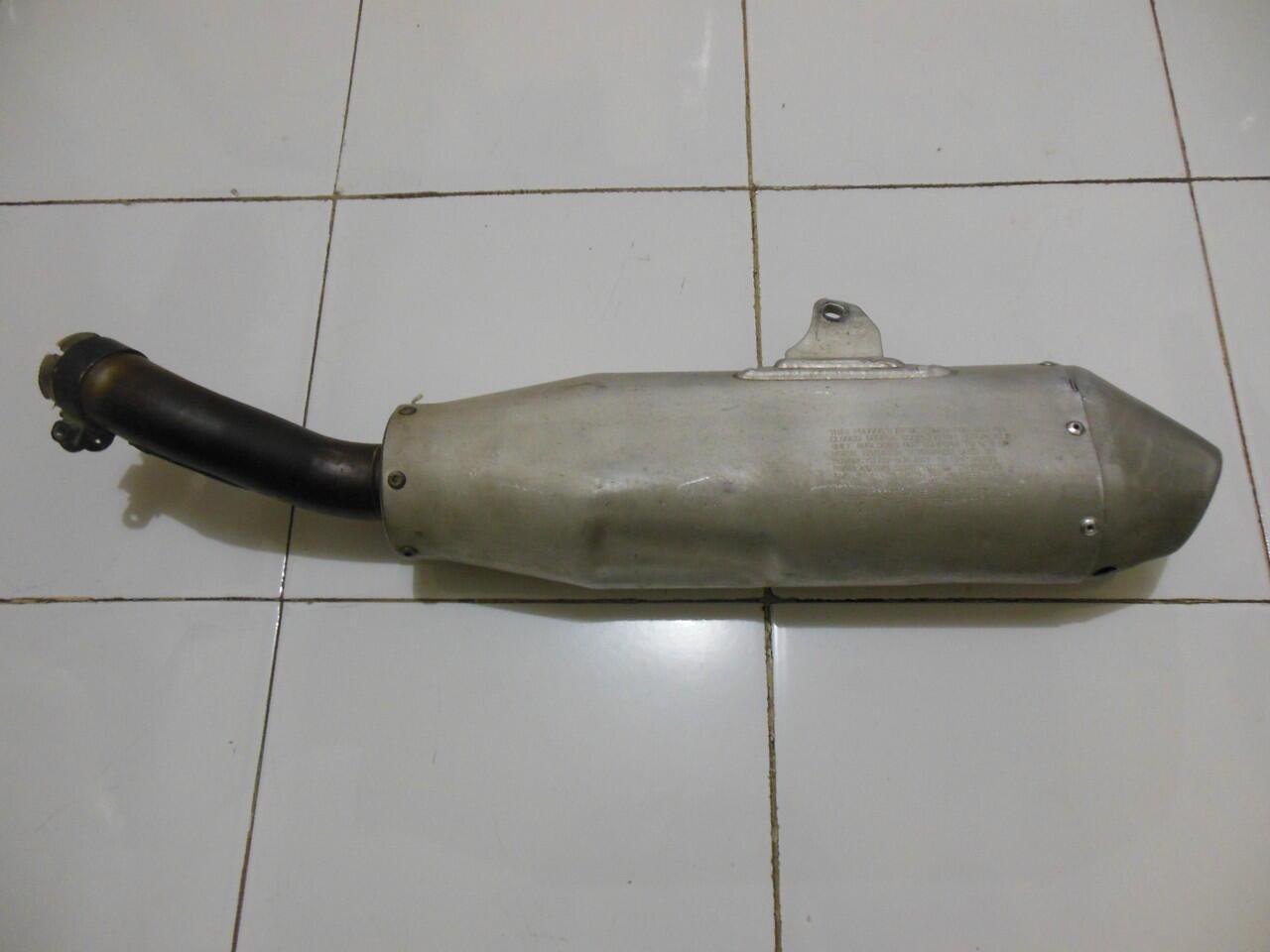 Knalpot Honda CRF250R Original