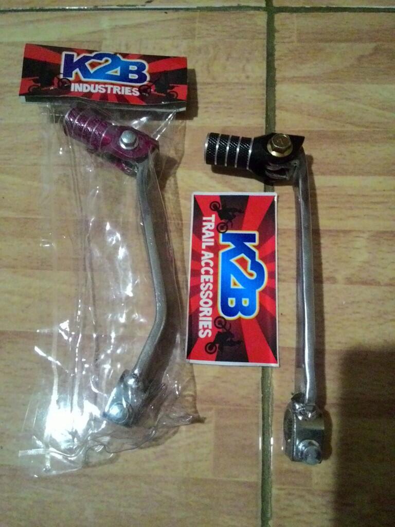 tuas operan gigi / shifter untuk mesin honda model lipat anti patah