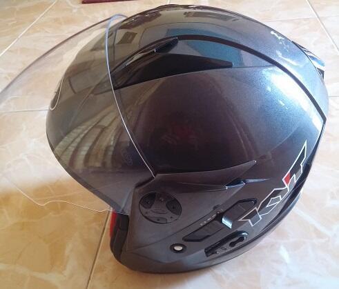 Helm KYT Scorpion double visor murah