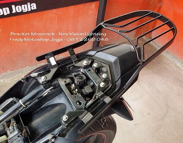 Jual Bracket MONORACK - Yamaha NEW VIXION 2013 / NVL - Murah Gan...