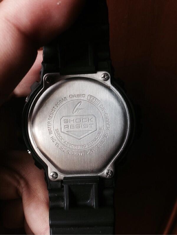 G-Shock DW 6900 CB. Mulus asli. Bandung