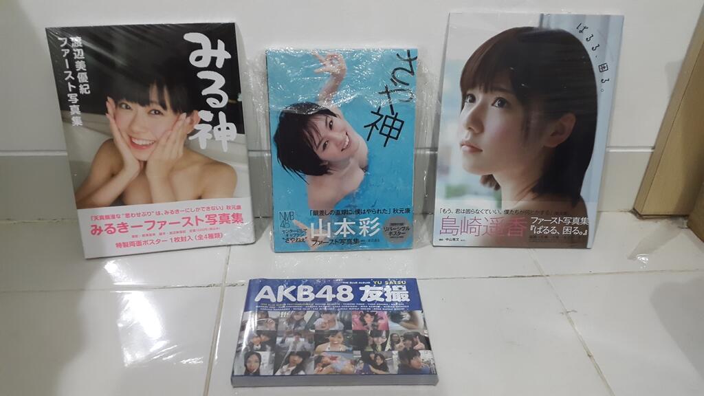 WTS Photobook AKB48 NMB48 Sayanee, Paruru, Mirukii & Majalah SKE48