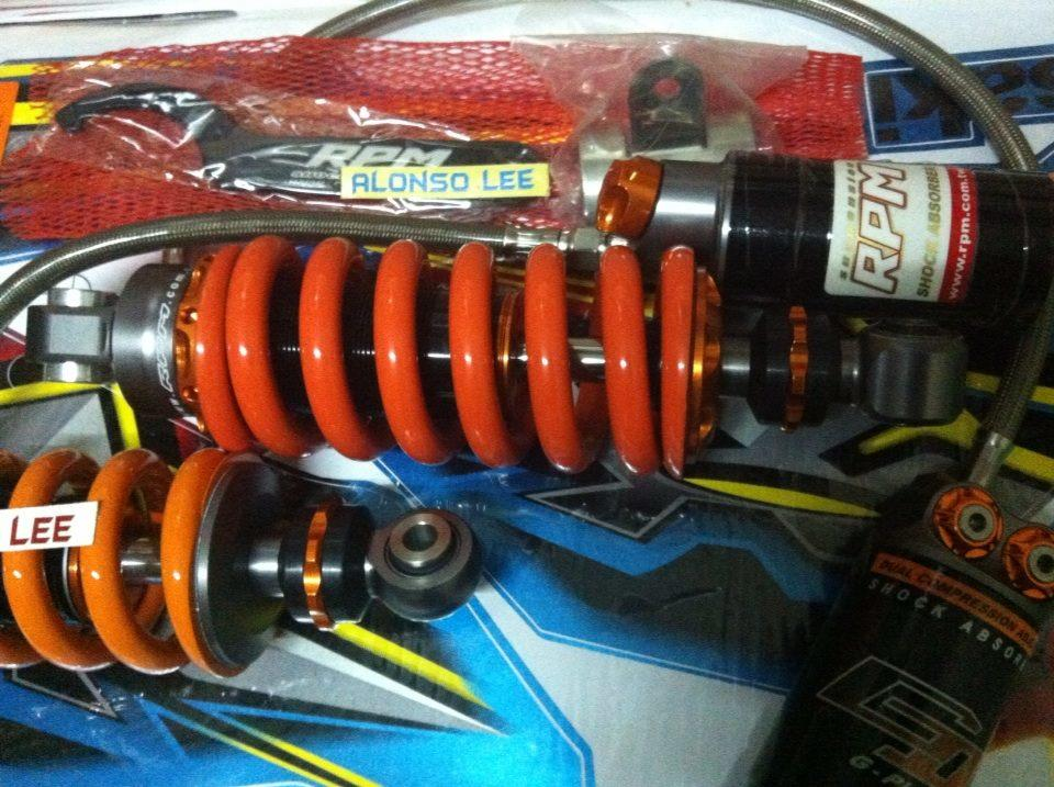 monoshock balap jupiter MX RPM gazi