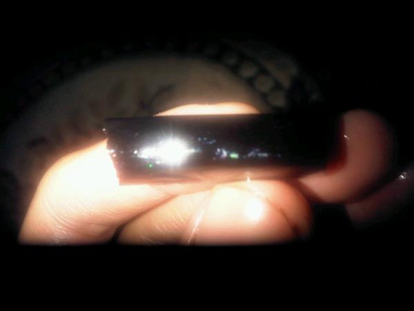 Rough batu black opal