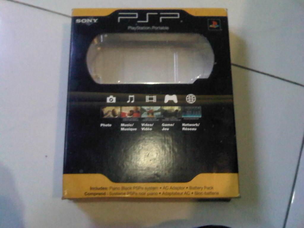 PSP Slim 2000 Black Permanent Hack mulus murah masuk dulu
