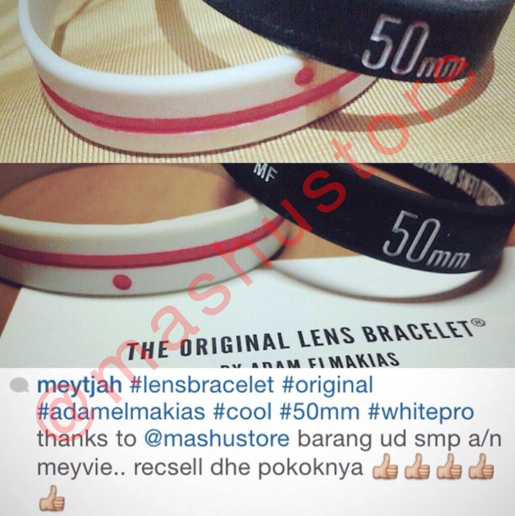 [WTS] Lens Bracelet (Mashu Store, Distributor in Indonesia)