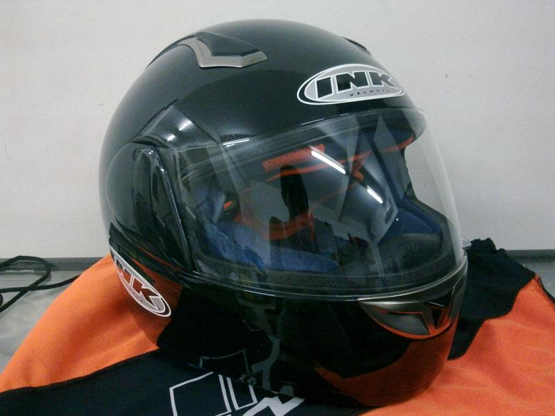 Helm INK GP Racer 2 / INK Chromo. Resized to size S. 98% Like New. Jual BU.