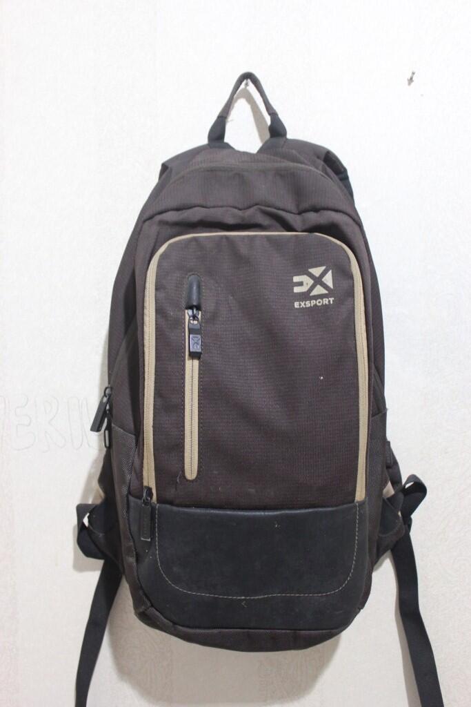 Terjual Tas Backpack sekolah kerja multifungsi merk export  eeaf7bc18f