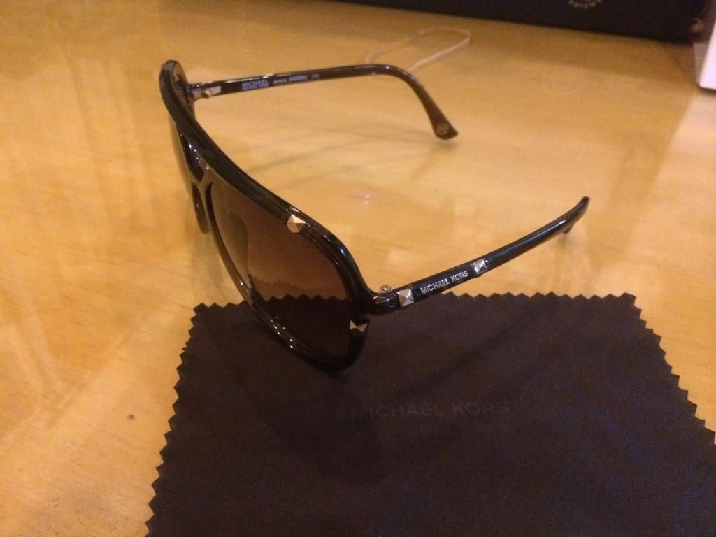 Sunglasses Michael Kors Jemma Version Gold Studed for Women ORIGINAL harga miring