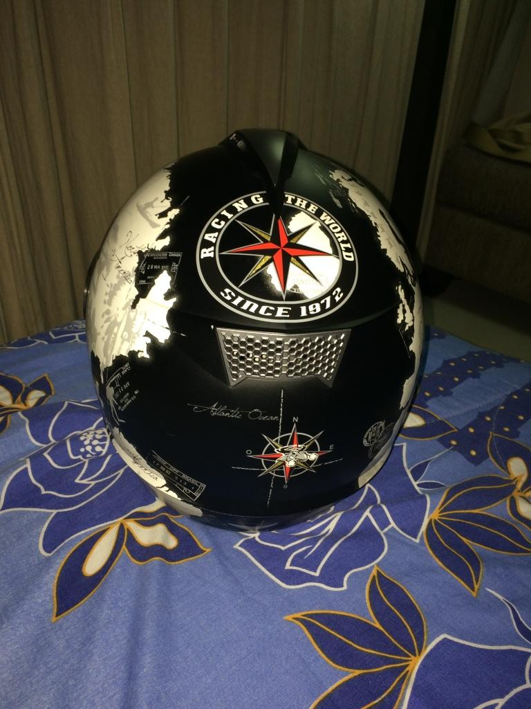 Helm Nolan N63 Carlos Checa Edition Black MAP Size L Limited 2x pakai saja. Mulusss