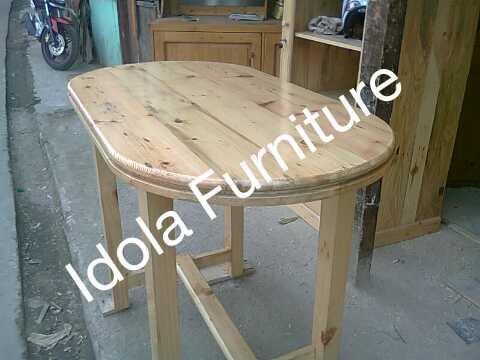 Terjual Kursi Dan Meja Makan Minimalis Kayu Jati Blanda