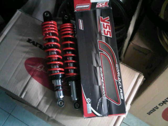 jual shock absorber shockbreaker yss merah 340 grosir dan ecer