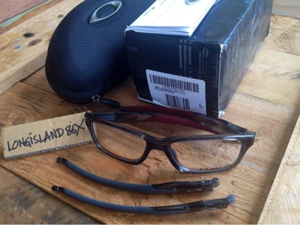 WTS $$ Oakley Crosslink Smoke Team Cardinal $$ NEW & Original 100% kacamata baca