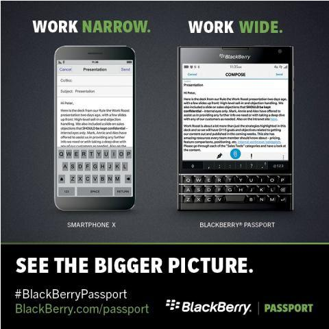 BlackBerry Passport Lounge - Work Wide