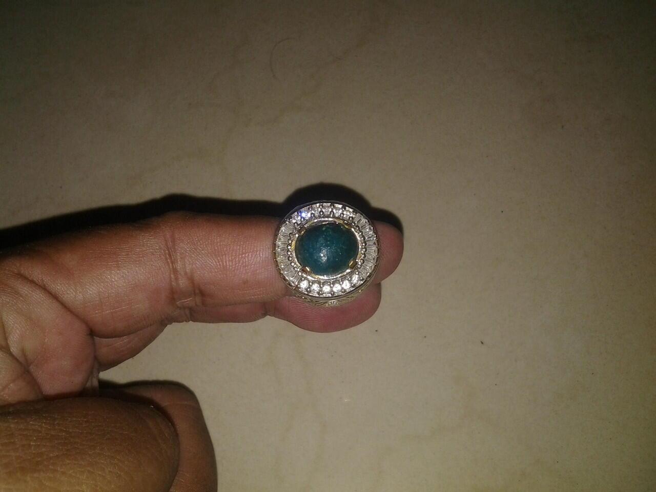 Batu Bacan Ring Aloy