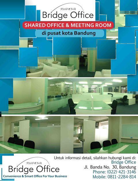 Sewa Kantor & Meeting Room di Bandung