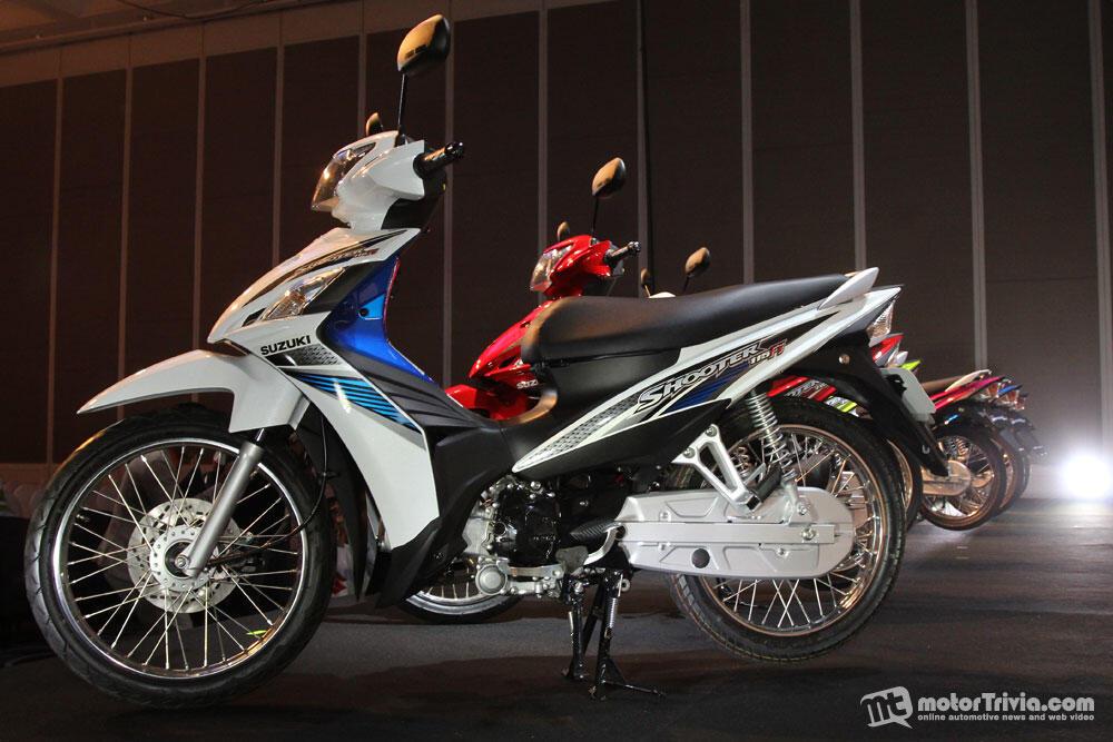 motor Suzuki Shooter LAZ FV115 manual murah bingitz