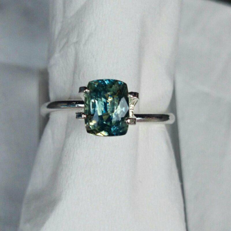 collector item batu permata multi color sapphire / saphire / safir plus memo