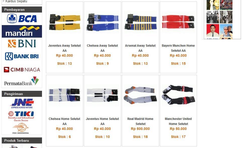 [Ready Stock] Deker Tas Sepatu Bola Football Soccer Original Kaos Kaki Headband