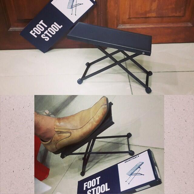 jual footstool / footstep gitar harga terjangkau, kualitas kuat