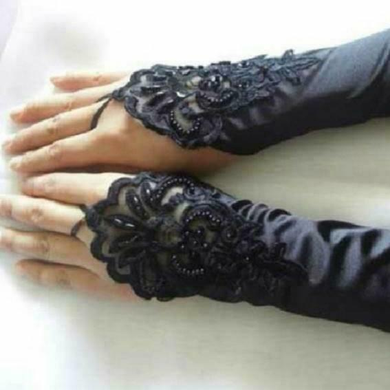 Handsock Import Korea Warna Hitam