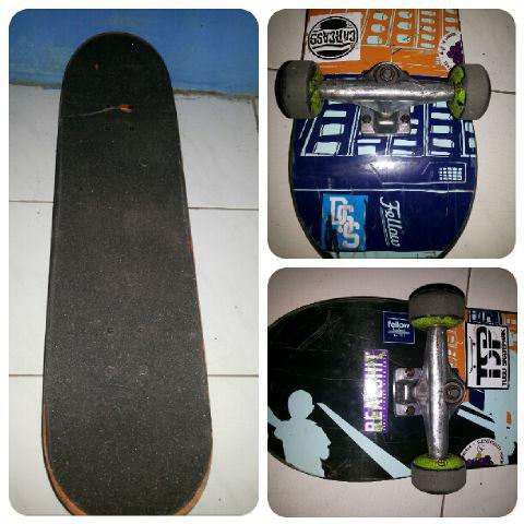 Terjual Skateboard Mulus Fullset