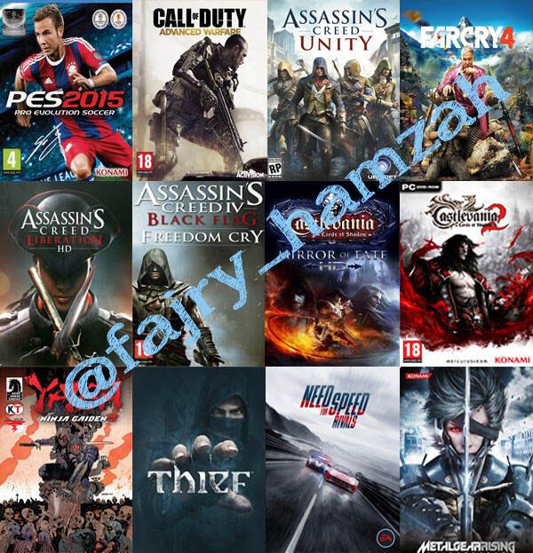 Game pc murah 5000/dvd bisa isi hardisk game lengkap dan update++
