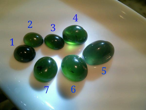 [G1-7] ijo garut kristal/crystal hijau botol