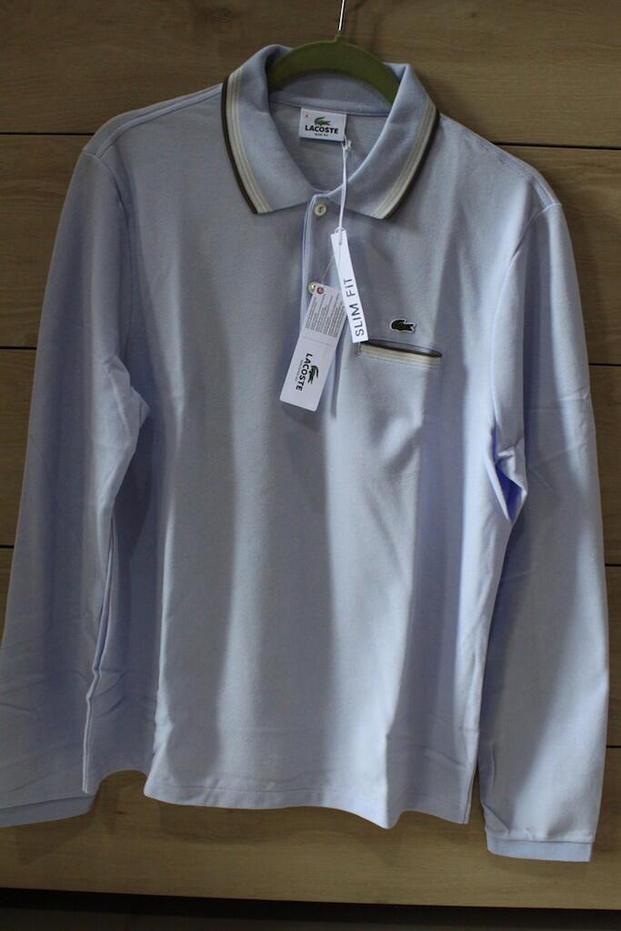 Terjual Kaos Polo Shirt Lacoste Lengan Panjang 100% Original Baru ... 7a4ee4e698