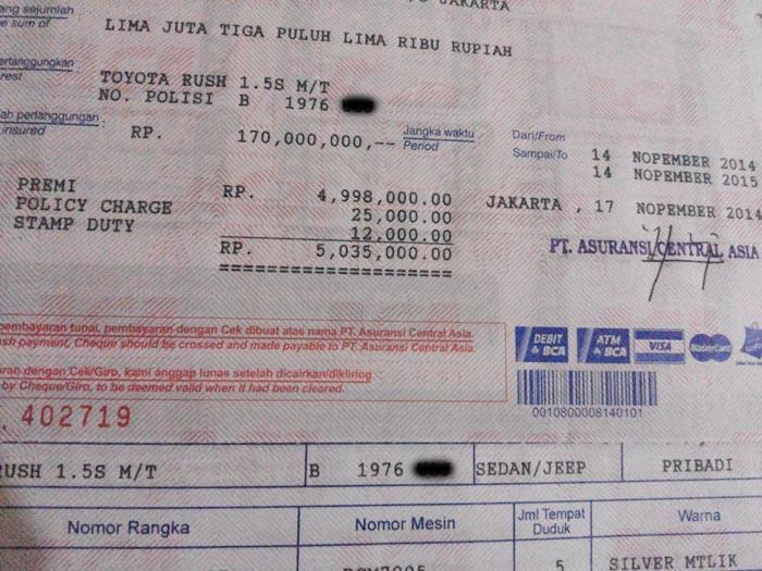 [Pindahan]Disc Gede Premi ACA -Memang Ada Asuransi Mobil yang Lebih Murah dari Kami??
