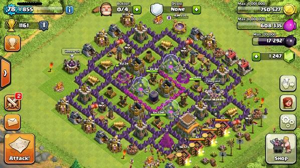 id Clash of Clan (coc)