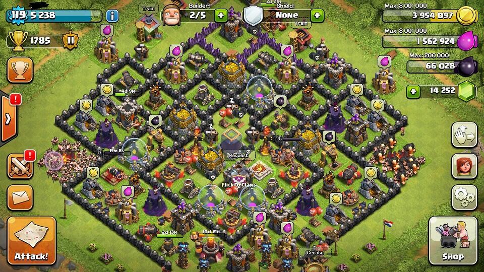 gem coc clash of clan