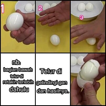 Dengan Cara Ini, Kamu Cuma Butuh 10 Detik Buat Ngupas Telur Rebus!