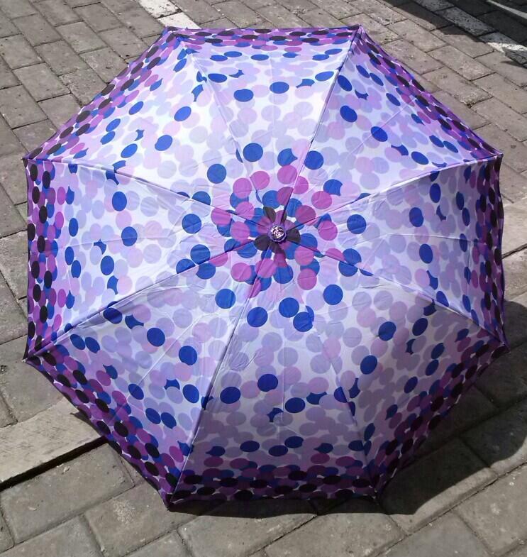 Payung Mangkok Cantik Biar Gak Basah